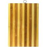 Доска разделочная 30*20см 119-2 бамбук с кольцом *30