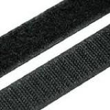 Липучка для одежды 2,5см черн *25м