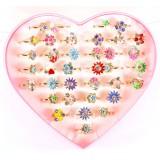 Кольцо Детское сердце KP-2020 (прод по 36шт)