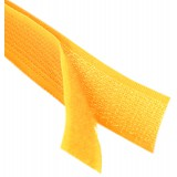 Липучка для одежды 2,5см оранжевая *25