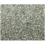 Бисер 450г мелкий серебро