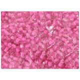Бисер 450г мелкий розовый