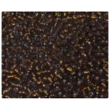 Бисер 450г мелкий коричневый