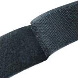 Липучка для одежды 10см черная *25