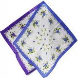 Платок носовой женск. узор цветы 403-4 (прод по 10)