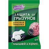 Домовой зерно 40г пакет от грызунов 1613/0163*110