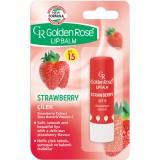 Бальзам д/губ Golden Rose Strawberry SPF15 0069