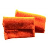 Манжет-довяз Трикотаж 11х8см(цена за пару) оранжевый
