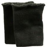 Манжет-довяз Трикотаж 11х8см(цена за пару) черный