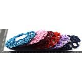 Сеточка на гульку KP-656 плетеная цветная*20