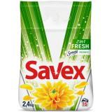 Стир.порошок. SAVEX Parfum LOSK 2в1 Fresh автомат 2,4*6 1428