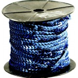 Пайетки на бобине т.синий 90м