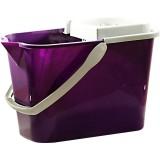 Ведро 10л с отжимом фиолетовый *9 0195/1543