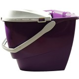 Ведро 12л с отжимом фиолетовый 0201*7