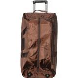 Сумка-чемодан дорожн.на колесах (цена за 3шт) коричн. 389