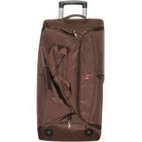 Сумка-чемодан дорожн.на колесах (цена за 3шт) коричн. 388