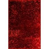 Коврик UP34360-510 40х60 длин. ворс красный