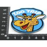 Наклейка д/одежды N1 ZOO TRIP