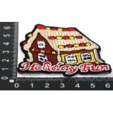 Наклейка д/одежды N6 Holiday Fun