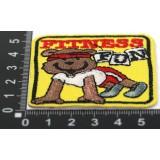 Наклейка д/одежды N14 FITNESS FUN