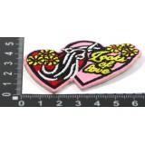 Наклейка д/одежды N15 LOOKS OF LOVE