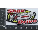 Наклейка д/одежды N19 SHOE DRIVE