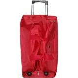 Сумка-чемодан дорожн.на колесах красн. больш (67х34см) 389