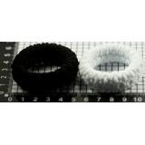 Резинка KP-1085 черно-белые (прод по 20)