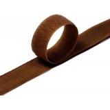 Липучка для одежды 2см №2076 т.коричневый