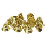 Колокольчики декоротивные метал.(уп.100шт) d 16мм золото