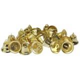 Колокольчики декоротивные метал.(уп.100шт) d 18мм золото