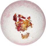 Бурлящий шар д/ванны Двухцветный с лепестками роз 130г*20  8160