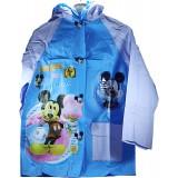Дождевик  детский в сумке 14-8  Микки Маус(M-63см,L-66см,XL-70см)