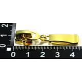 Бегунок №5 метал  М5-001 золото