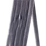 Резинка ажурная арт3001-08 шир.8мм серая (20м)