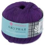 Пряжа Ажурная 0,5кг (10штх50гр*280м 100%хлопок) фиолет