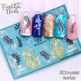 Наклейки на ногти 3D Crystal  №14