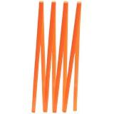 Лента  Атлас 0,3см на катушке оранжевая