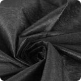 Флизелин точечный 25гр/м,ширн.90см арт.6025 чёрный 100м