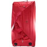 Сумка-чемодан дорожн.на колесах красн. (цена за 1шт) средн.(58х32см)1932