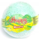 Бурлящий шар д/ванны Happy Мохито 130г*20  1468