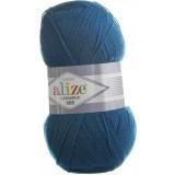 Пряжа Lanagold 800 0,5кг (5штх100гр*800м 49% шерсть,51% акрил) №155 синий