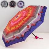 Зонт 4887123 механический 3 сложения 8 спиц R = 48 см цвет МИКС