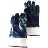 Перчатки МБС манжет неполный облив синие (прод по 10) ББ1-180 (шт) $