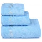 Полотенце банное 3501-3873 (70х130) *3 цв.14-4311 голубой