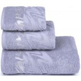 Полотенце банное 3501-3873 (70х130) *3 цв.16-1703 серый