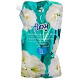 Кондиционер д/белья Flexy 1,25л изумрудный цветок*6 2256