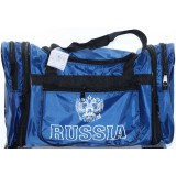 Сумка дорожная RUSSIA синяя (45х28см)