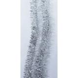 Мишура  №18 серебро 2м (прод по 10)*150