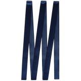 Лента  Атлас 0,6см (уп.33м) №120 тем.синий